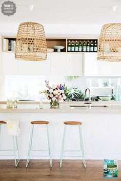 bright + light kitchen