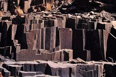 Basalt structures in Namibia