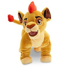 Soft-stuffed Kion is the son of Simba and leader of <i>The Lion Guard</i>. This cunning plush cub is always ready to play and brighten your Circle of Life!