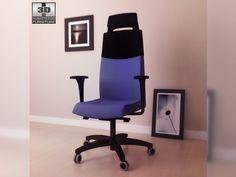 3D Model IKEA VOLMAR Swivel chair c4d, obj, 3ds, fbx