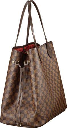 My favorite bag in my closet. its literally NEVER FULL! -kerri   Louis Vuitton Neverfull GM Large Tote Bag.