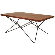 Coffee Table by Bengt Johan Gullberg   From a unique collection of antique and modern coffee and cocktail tables at https://www.1stdibs.com/furniture/tables/coffee-tables-cocktail-tables/