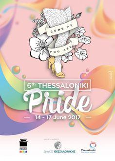 Thessaloniki Pride'da Hande Kadere ithaf.