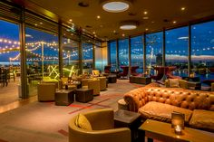 SkyLounge Amsterdam, DoubleTree by Hilton, Centraal Station, Amsterdam, Netherlands