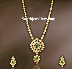 pachi uncut diamond necklace