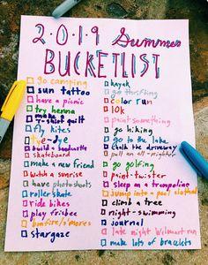 Fun ideas for summer. Stuff to do when bored. Stuff to do with friends. Summer to-do list. Summer Bucket List For Teens, Summer Fun List, Summer Goals, Fun Ideas For Summer, Fun Bucket List Ideas, Summer Diy, Summer Checklist, Best Friend Bucket List, Bucketlist Ideas