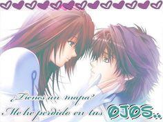 tarjetas anime de amor
