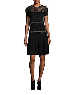 Diane von Furstenberg Celina Dress - Black