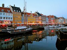 """Nyhavn at Night"" Student Photo in Copenhagen, Denmark"