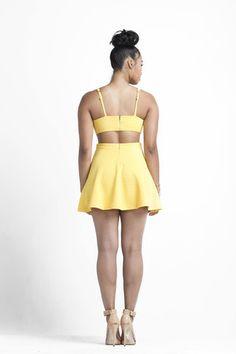 Mellow Yellow Dress