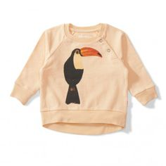 Lil Missie Peacan Fleece Crew