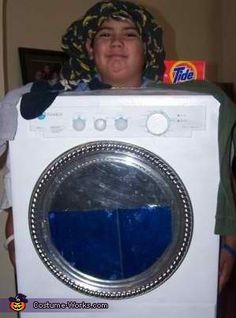 Washer Costume - Halloween Costume Contest via @costumeworks