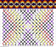 Muster # 80244, Streicher: 30 Zeilen: 20 Farben: 7