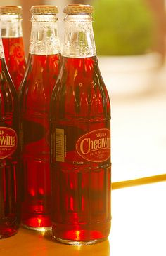 Cheerwine (this makes me think of my best friend Cindy)
