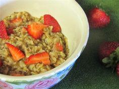 Low Calorie Vegan Oatmeal