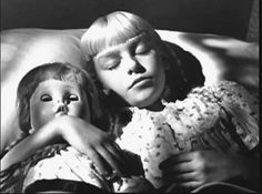 """Sweet Sue """"The Bad Seed"""" movie WATCH THIS MOVIE! and you will understand why this sweet innocent girl is terrifying! Innocent Girl, The Bad Seed, Movie Photo, Scary Movies, Love Pictures, Old Toys, Classic Movies, Movie Stars, Thriller"""