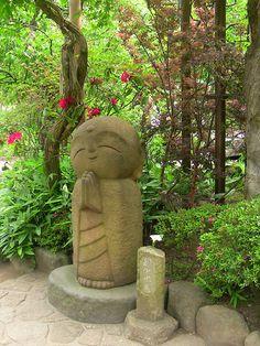 Jizo, protector in Japan