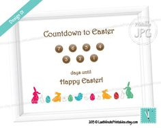 USD 2.99, Easter Advent Calendar Countdown egg white rabbit printable prop sign clipart bunny pattern baby boy bucket gift chick blocks basket toy     Awesome pic! Kuddos