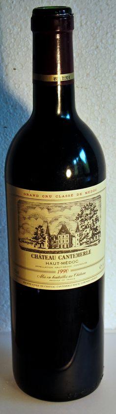 """17. Juni 2015 - Château Cantemerle: Cantemerle 1990, Haut-Médoc, Bordeaux, Frankreich - Die Geschichte des Weinguts ist vielleicht interessanter als der Wein. Obwohl gerade diese Flasche – Jahrgang 1990 – spannend und überraschend ist. Ein Cinquième Cru, der locker 35 Jahre gemeistert hat, dies ist auch in Bordeaux eher die Ausnahme. Zugegeben, der Wein wäre vielleicht vor acht, zehn Jahren """"besser"""" gewesen, voll ausgereift, so quasi auf dem Höhepunkt."""