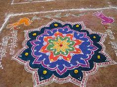 Kolam ~~ Rangoli