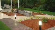 Resultado de imagen para diseño de jardines con piedras decorativas