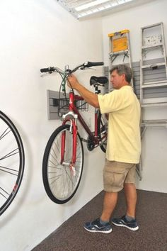Organization tips for the garage