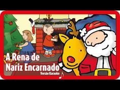 Rudolph The Red Nosed Reindeer Karaoke, Rudolph The Red, Red Nosed Reindeer, Christmas Fun, Reindeer Christmas, Youtube, Family Guy, Songs, Fictional Characters