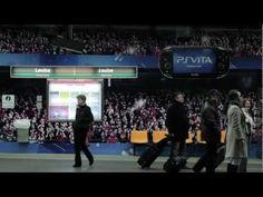 #StreetMKT El mundo está en juego según PlayStation. Por eso transformaron una estación del metro en un estadio gigante.