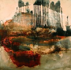 Siobhan McDonald(Irish) Forest at Campsylvestre oil on canvas