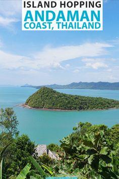 Island Hopping in Thailand on the Andaman Coast | Koh Yao Noi, Krabi, Phuket, Phi Phi Island | #Asia | #Thailand | #asiatravel | #TravelTips