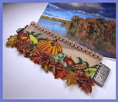 """Beads Beading Beaded, with Erin Simonetti: """"Giving Clear Thanks"""" this Gorgeous Fall Season!"""