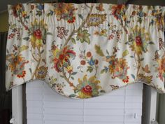 Window Valance 50 x 19 lined by LaTeDaWindows on Etsy, $44.00