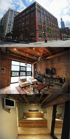 industrial building in chicago, photos by amanda rivkin for the new york times #architecture #loft #amandarivkin