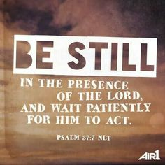 Patience for God's Will