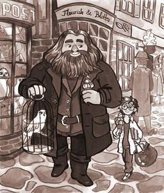 Yer a wizard, Harry by seroglazka
