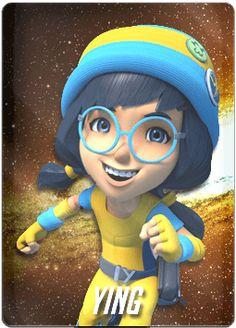 Galaxy Movie, Boboiboy Galaxy, Neo Monsters, Boboiboy Anime, Anime Girl Cute, Character Names, Vintage Cartoon, Galaxy Wallpaper, Super Powers