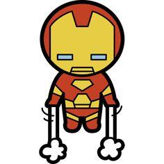Kawaii Iron Man Fathead