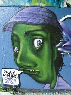 Characters By Xkuz - Palaiseau (France) - Street-art and Graffiti | FatCap