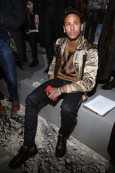Neymar at Louis Vuitton fashion show 18/01/18