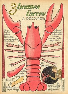 Antique Copy of French Lobster