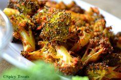 Spicy Treats: Baked Masala Broccoli