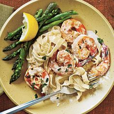 Verdict:  Excellent!      I'm not a huge shrimp fan (understatement) --- but I've made it with shrimp once and without once (both good).  Of course you can use chicken or broccoli instead of shrimp...       Dinner Tonight: Pasta | Shrimp Fettuccine Alfredo | CookingLight.com