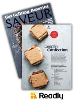 Suggestion about Saveur June / July 2015 page 22