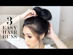 Prime How To Make A Messy Bun 6 Easy Ways Videos Updo And Easy Hair Hairstyle Inspiration Daily Dogsangcom