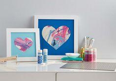 Craft Painting - DIY Shadow Box