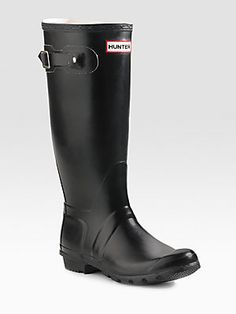 Hunter Original Rain Boots - another great staple! To get the mail, out with the dogs or in the summer rain they are wonderful!