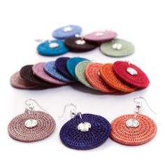 Colorful Fair Trade earrings handwoven by women in Swaziland using natural Sisal fibers and silver accents. Fair Trade Jewelry, Crochet Things, African Jewelry, Sisal, Natural Beauty, Hand Weaving, Crochet Earrings, Jewelry Accessories, Colorful