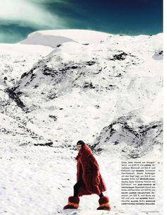 schneekönigin: julia stegner by giampaolo sgura for vogue germany december 2013
