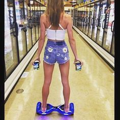 Grocery shopping will never be the same!! Get your board today for only $399 visit www.bravearscooters.com