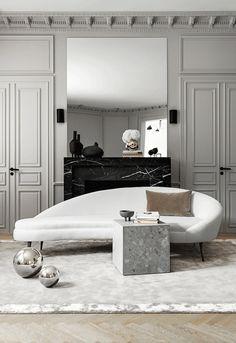 Create An Exotic Design Project With Miami's Best Interior Designers Classic Interior, Best Interior, Modern Interior, Home Interior Design, Home Living, Living Spaces, Living Room Designs, Living Room Decor, Interior Design Inspiration